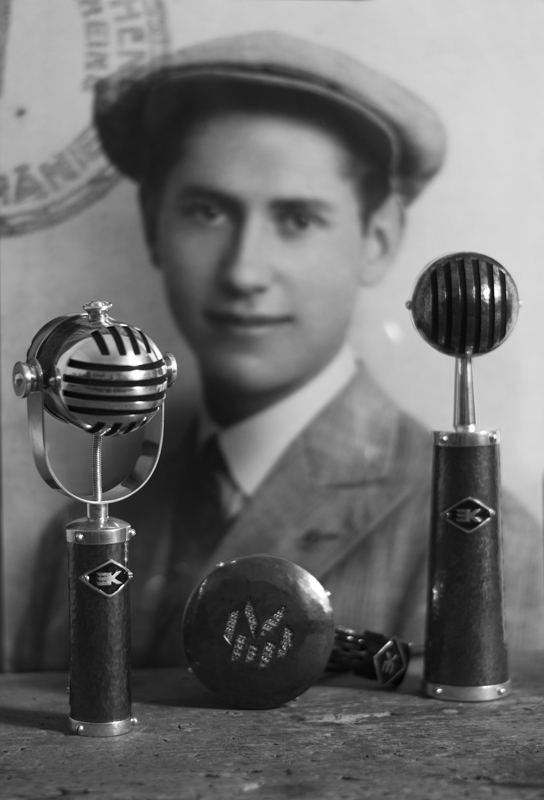 kindlein silver microphones